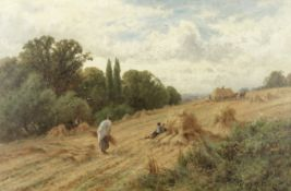 Henry H. Parker (British, 1858-1930) 'Harvest time'