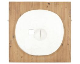 Harry Thubron (British, 1915-1985) Domed Plaster 74 x 77 x 8cm (29 1/8 x 30 5/16 x 3 1/8in) (unfr...