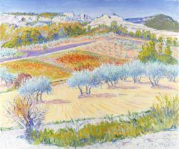 Frederick Gore C.B.E., R.A. (British, 1913-2009) Les Catalans, Les Baux de Provence (unframed)