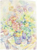 Fred Yates (British, 1922-2008) Still Life of Flowers, Provence