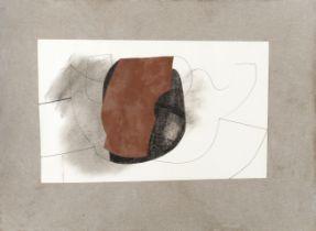 Ben Nicholson O.M. (British, 1894-1982) 1979 (red form) 26 x 41cm (10 1/4 x 16 1/8in) (sheet), 41...