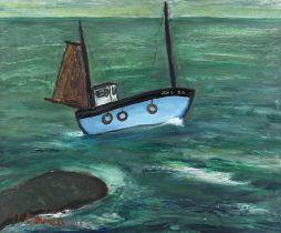 Alan Lowndes (British, 1921-1978) French Crabber