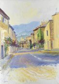 Frederick Gore C.B.E., R.A. (British, 1913-2009) The Luberon, Seen From the Steep Downhill Road a...