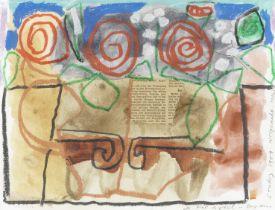 Bryan Ingham (British, 1936-1997) Roses In A Jug