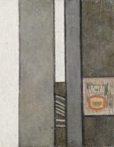 Prunella Clough (British, 1919-1999) Urban Landscape II (Painted in 1955)