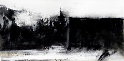 John Virtue (British, born 1947) Landscape 853 (unframed)