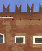 Kenneth Rowntree A.R.W.S. (British, 1915-1997) Verona II (unframed) (Painted in 1982)
