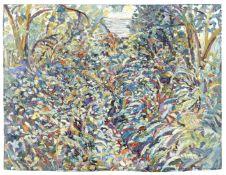 Fred Yates (British, 1922-2008) The Overgrown Garden (unframed)