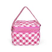 Pink Gingham Lunchbox Bag, Chanel, Resort 2011, (Includes serial sticker)
