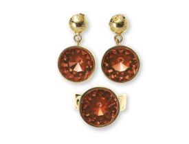 Over the Rainbow Earrings and Ring Set, Louis Vuitton,