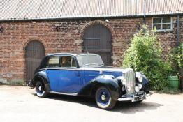 1951 Bentley MkVI Saloon Chassis no. B379BM