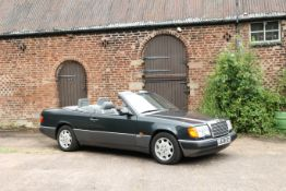 1993 Mercedes-Benz E320 Cabriolet with Hardtop Chassis no. WDB1240662C004827