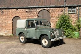 1975 Land Rover Series III 88' Chassis no. 90112877A