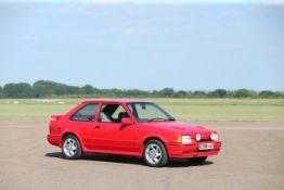 1989 Ford Escort RS Turbo Chassis no. WF0BXXGCABKP53365