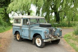 1959 Land Rover Series IIA Safari Roof Chassis no. 141903863