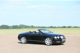 2007 Bentley Continental GTC W12 Chassis no. SCBDE23WX8C053171
