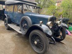 1925 Sunbeam 14/40 Tourer Chassis no. 5265E