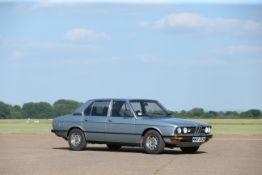 The Ex-Sir Robert McAlpine,1980 BMW 525 Auto (E12) Saloon Chassis no. WBA38620004536674