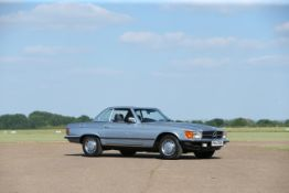 1988 Mercedes-Benz 280SL with Hardtop Chassis no. WDB10704222012947