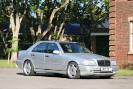Believed to be one of only 26 RHD examples,1998 Mercedes-Benz C55 AMG W202 Sports Saloon Chassis...