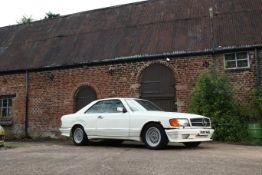 1984 Mercedes-Benz 500SEC Coupé Chassis no. 1260442A065021