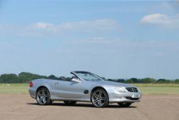 2003 Mercedes-Benz SL500 Chassis no. WDB2304752F054058
