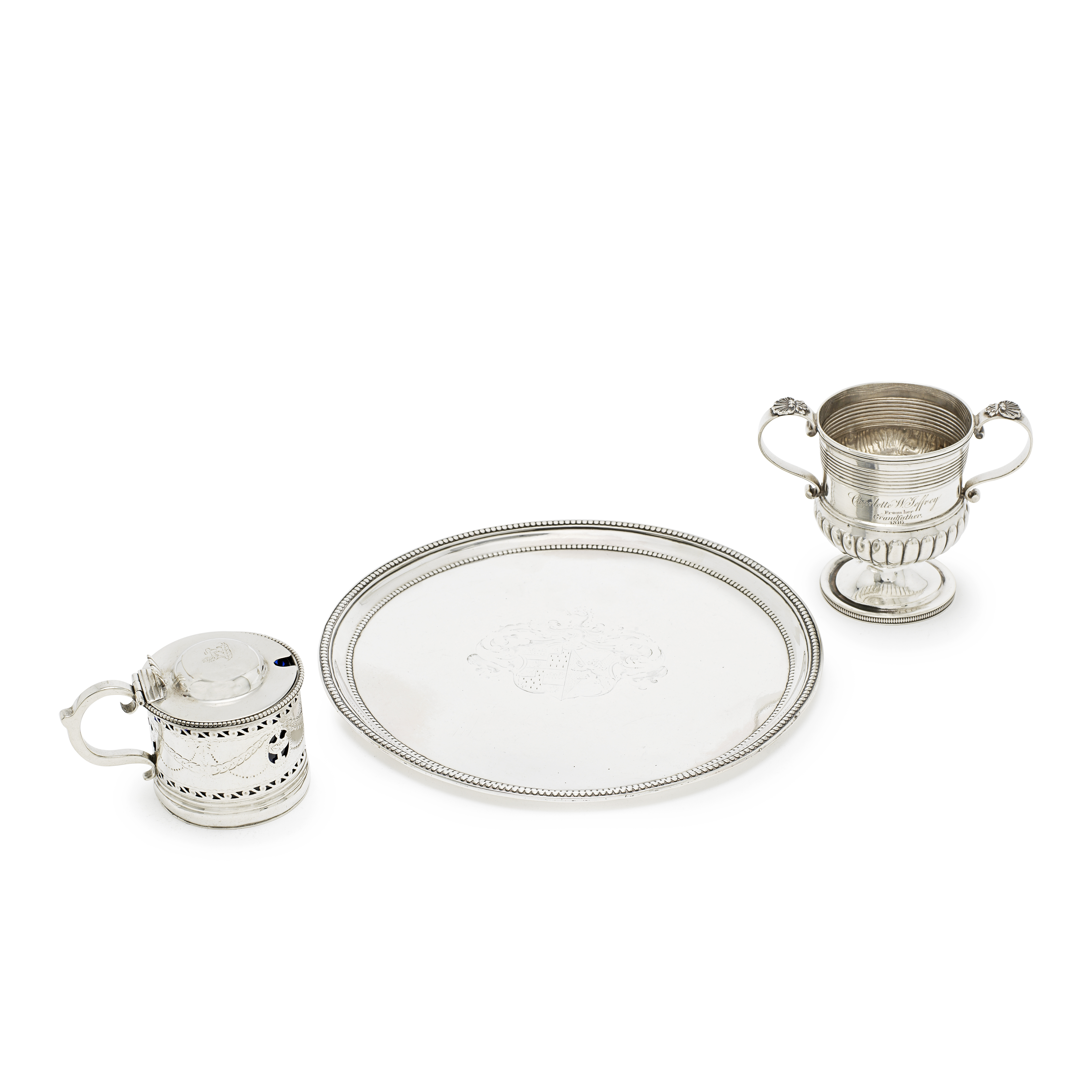 A collection of Georgian silver various dates and makers (qty)