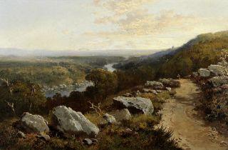 Edmund John Niemann (British, 1813-1876) View near Kirby, Yorkshire