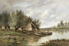 Joseph Thors (British, circa 1835-1898) Pastural landscapes, a pair