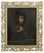 Rodolfo Paoletti (Italian, 1824-1891), After Sebastiano del Piombo Portrait of a violinist