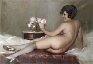 French School In the boudoir