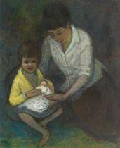 Charles McCall (British, 1907-1989) Rhoda and Natasha