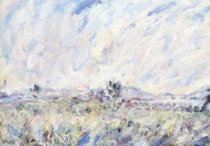 Paul Kron (French, 1869-1936) Grand paysage avec arbre