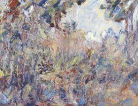 Paul Kron (French, 1869-1936) Cavaliers dans la forêt