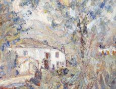 Paul Kron (French, 1869-1936) La ferme (Painted in 1929)