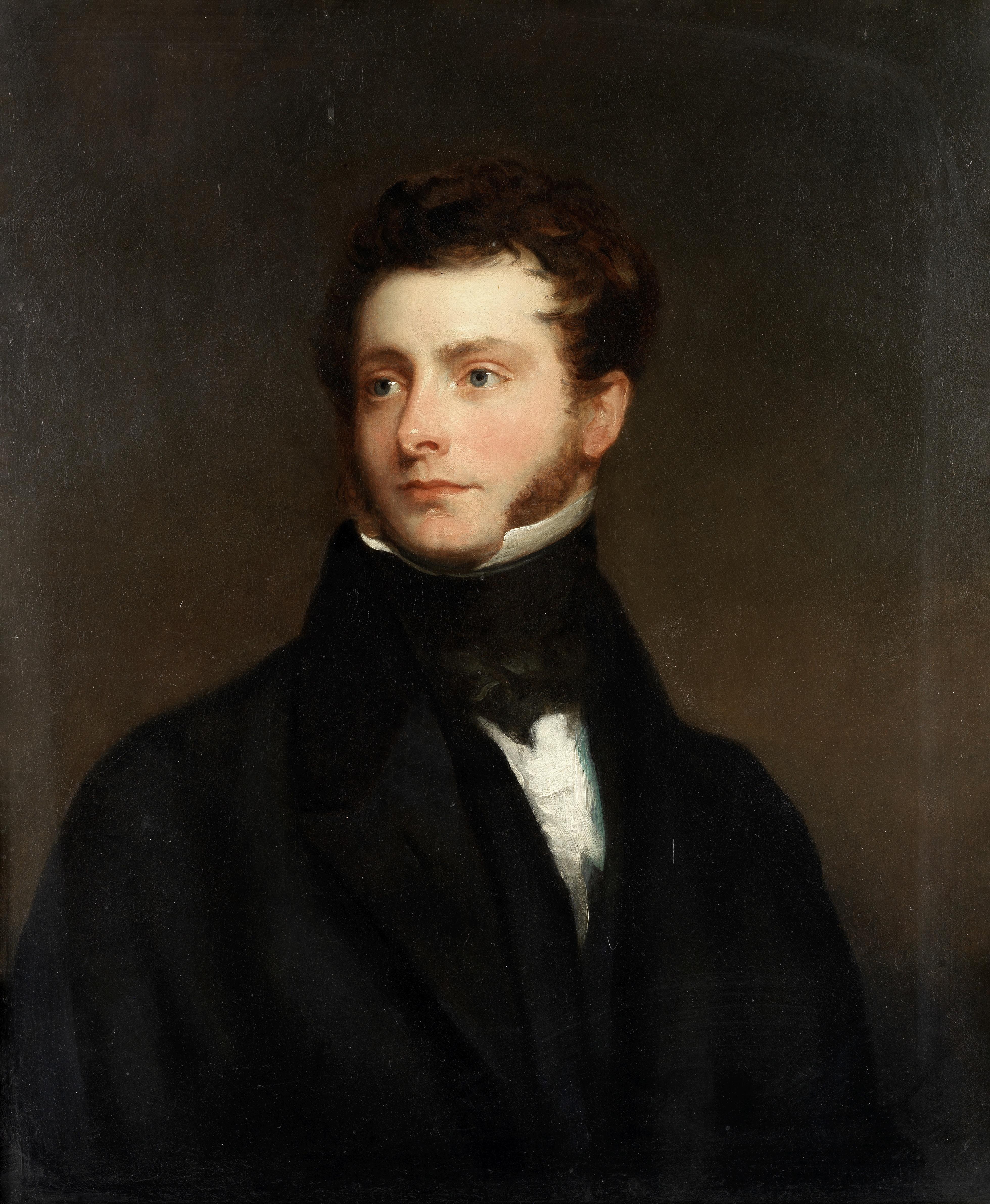 Circle of Sir Thomas Lawrence, PRA (British, 1769-1830) Portrait of a gentleman