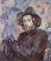 Paul Kron (French, 1869-1936) L'homme au chapeau