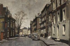 Edward Seago, RWS, RBA (British, 1910-1974) Cheyne Row, Chelsea