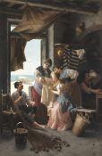 Giovanni Battista Torriglia (Italian, 1858-1937) A new arrival
