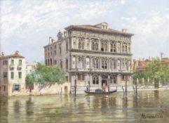 Antonietta Brandeis (Czech, 1849-1926) Palazzo Vendramin-Calergi, Venice
