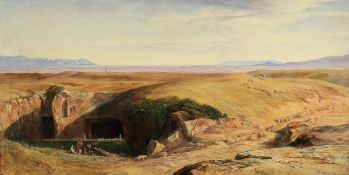 Edward Lear (British, 1812-1888) The Campagna di Roma