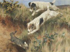 Arthur Wardle, RI (British, 1864-1949) Ferreted out