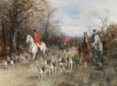 Heywood Hardy (British, 1843-1933) Going to the meet
