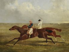 Attributed to John Frederick Herring, Jnr. (British, 1815-1907) The Earl of Chesterfield's 'Priam...