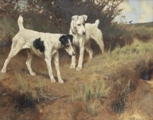 Arthur Wardle, RI (British, 1864-1949) Terriers