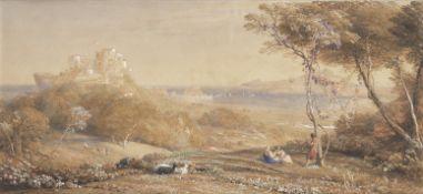 Samuel Palmer (British, 1805-1881) Porta di Posillipo and the Bay of Baiae, Italy, Ischia and Mis...