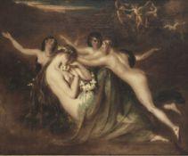 William Etty, RA (British, 1789-1849) Sabrina, from Milton's 'Comus'