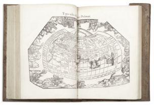 PTOLEMAEUS (CLAUDIUS) Geographicae enarrationis libri octo, Lyon, Hughes de la Porte [colophons: ...