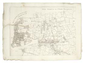 LONDON - EAST END, 1703 GASCOYNE (JOEL) An Actuall Survey of the Parish of St Dunstan Stepney, al...