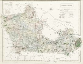 WALKER (JOHN & CHARLES) The British Atlas Comprising Separate Maps of Every County in England, ea...